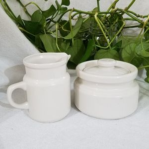 Cream & Sugar Set, Vintage/Retro Look